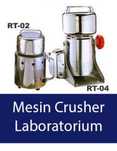 mesin crusher laboratorium