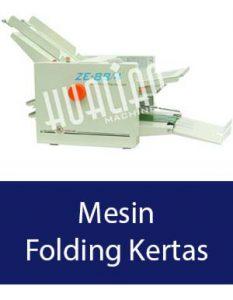 mesin folding kertas