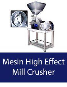 mesin high effect mill crusher