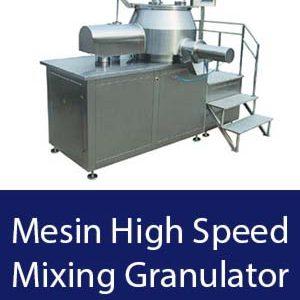 Mesin High Speed Mixing Granulator dari PT Karya Mandiri Machinery