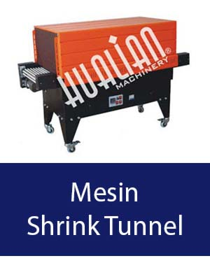 mesin shrink tunnel